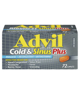 Advil Cold & Sinus Plus Caplets