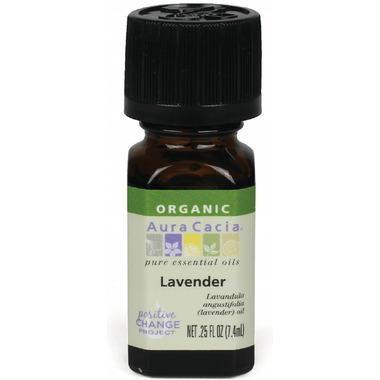 Aura Cacia Organic Lavender Essential Oil