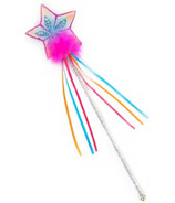 Great Pretenders Glitter Rainbow Wand Multi Pastel Hot Pink
