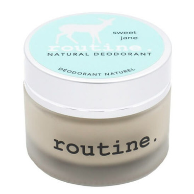 Routine De-Odor-Cream Natural Deodorant in Sweet Jane Scent