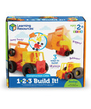 Learning Resources 1-2-3 Build It! Construction Crew