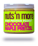 Nuts n More Chocolate Maple Pretzel High Protein Peanut Spread