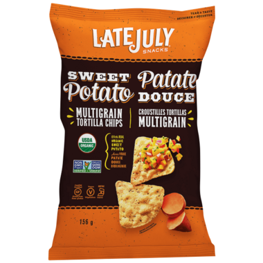 Late July Sweet Potato Multigrain Tortilla Chips