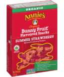 Annie's Homegrown Organic Bunny Fruit Snacks Summer Strawberry