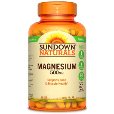 Sundown Naturals Magnesium Oxide