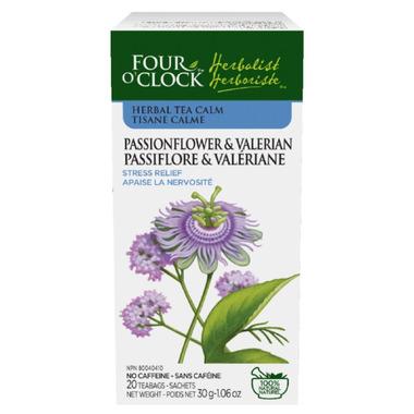 Four O\'Clock Passionflower & Valerian Tea