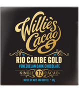 Willie's Cacao Rio Caribe Gold Venezuelan Dark Notes of Nuts & Coffee