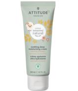 ATTITUDE Crème de jour hydratante pour bébésnaturellement apaisante pour le corps