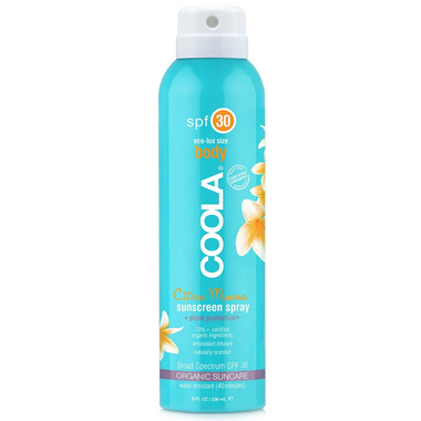 COOLA Body Sunscreen Spray SPF 30 Citrus Mimosa