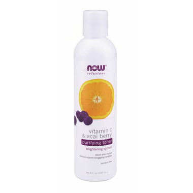 NOW Solutions Vitamin C & Acai Berry Purifying Toner