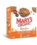Mary's Organic Crackers Everything Super Seed Crackers