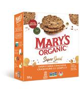 Mary's Organic Crackers Craquelins Super Grains Craquelin Complet