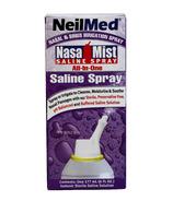 NeilMed Solution saline en vaporisateur tout-en-un NasaMist
