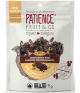 Patience & Co. Organic Chococrunch Bites Dark Chocolate & Chia