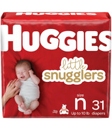 Couches Huggies Little Snugglers Paquet géant