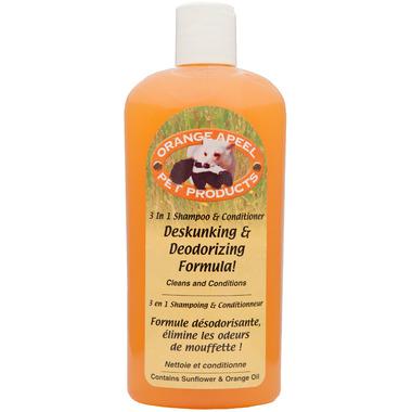 Orange a-P-E-E-L Deskunking & Deodorizing Formula