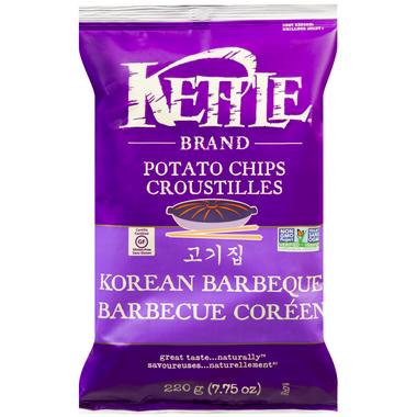 Kettle Korean Barbeque Potato Chips