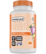 Herbaland Sugar-free Vitamin C Gummies for Adults & Kids