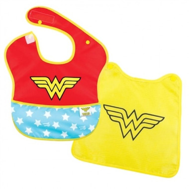 Bumkins DC Comics Wonder Woman Caped SuperBib