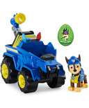 Paw Patrol Dino Rescue Chase's Deluxe Vehicle & Mystery Dinosaur Figure