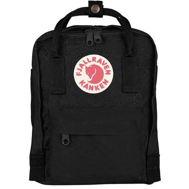 Fjallraven Kanken Mini Backpack Black