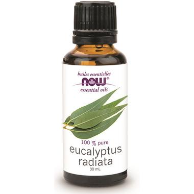 NOW Essential Oils Eucalyptus Radiata Oil