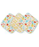 Loulou Lollipop Washcloth Set Cutie Fruits