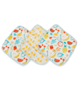 Loulou Lollipop Washcloth Set Cutie Fruits