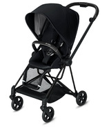 Cybex Mios Matte Black Frame with Premium Black Seat Pack