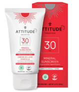 ATTITUDE Mineral Face Sunscreen Fragrance Free SPF30