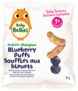 Baby Bellies Organic Blueberry Puffs