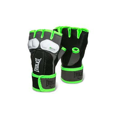 Everlast Prime Evergel Hand Wraps Green & Grey Large