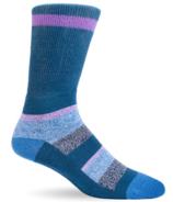 Dr. Segal's Diabetic Socks Dusk Blue Stripes