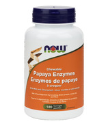 NOW Foods Chewable Papaya Enzymes With Mint & Chlorophyll