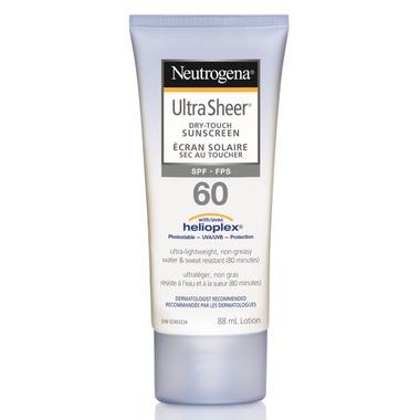 Neutrogena Ultra Sheer Dry-Touch Sunscreen SPF 60
