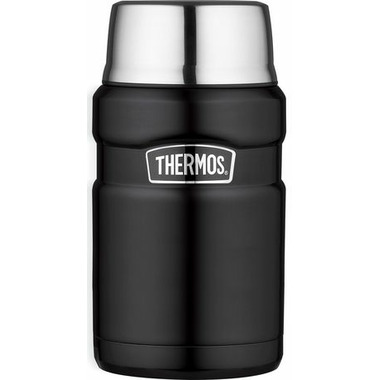 Thermos Stainless Steel Food Jar Matte Black