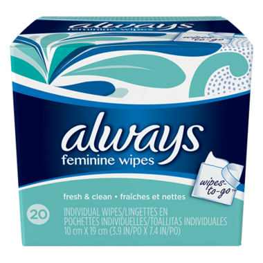 Always Fresh & Clean Wipes-To-Go