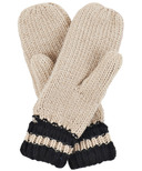 Hatley Little Blue House Heritage Adult Mittens Black Bear