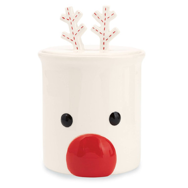 Mud Pie Mud Pie Reindeer Cookie Jar