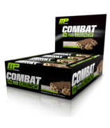 Musclepharm Combat Crunch Protein Bar Case Chocolate Chip Cookie Dough