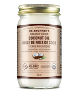 Huile de noix de coco vierge blanche biologique Dr. Bronner's