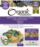 Organic Traditions Probiotic Cereal Triple Berry
