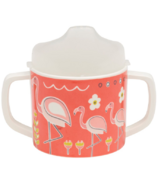 Sugarbooger Sippy Cup Flamingo