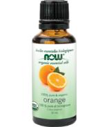 NOW Essential Oils Huile d'orange bio