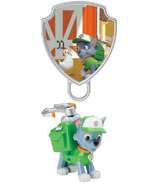 Paw Patrol Action Pack Rocky and Collectible Pup Badge