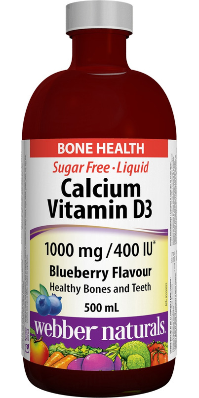 Buy Webber Naturals Calcium Plus Vitamin D Liquid At Well Ca Free Shipping 35 In Canada
