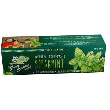 Green Beaver Spearmint Toothpaste