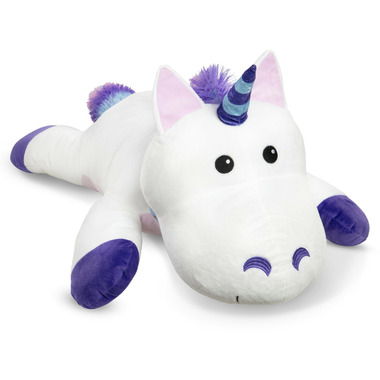 Melissa & Doug Cuddle Unicorn Jumbo Plush Stuffed Animal