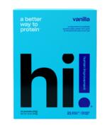 hi! Human Improvement Vanilla Protein Powder 10 Pack
