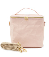 SoYoung Lunch Poche with Braided Strap Blush Pink Paper